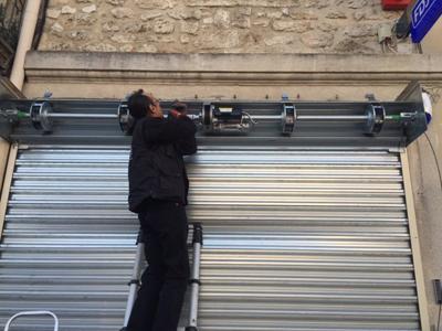 Réparation rideau métallique La Ville-du-Bois 91620
