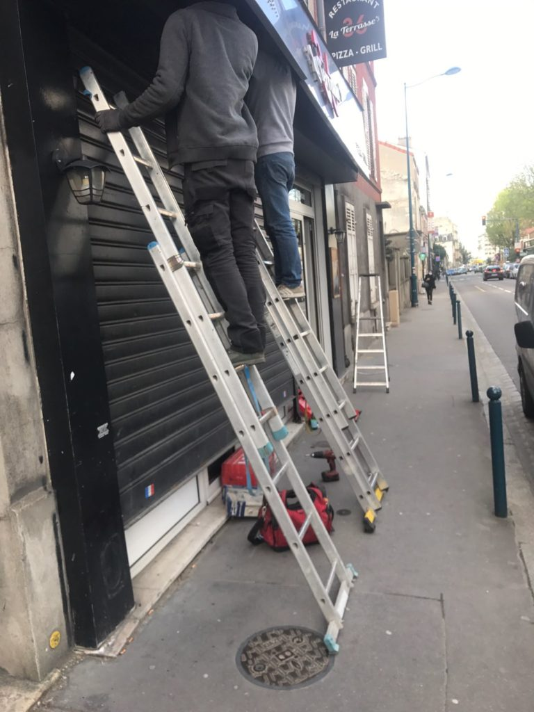 Dépannage rideau métallique Saint-Escobille